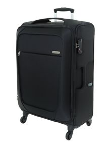 New B-Lite 4-wheel black medium suitcase