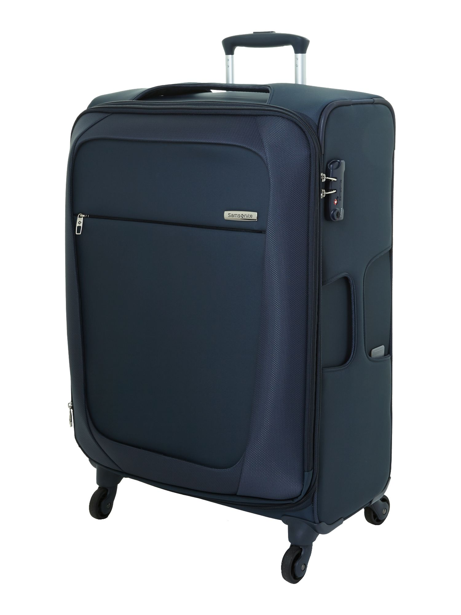 New B-Lite 4-wheel blue medium suitcase
