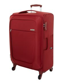 New B-Lite 4-wheel red medium suitcase
