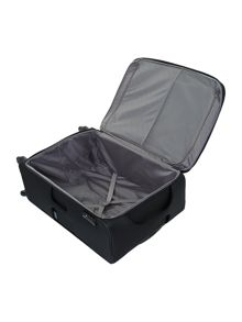 New B-Lite 4-wheel black large suitcase