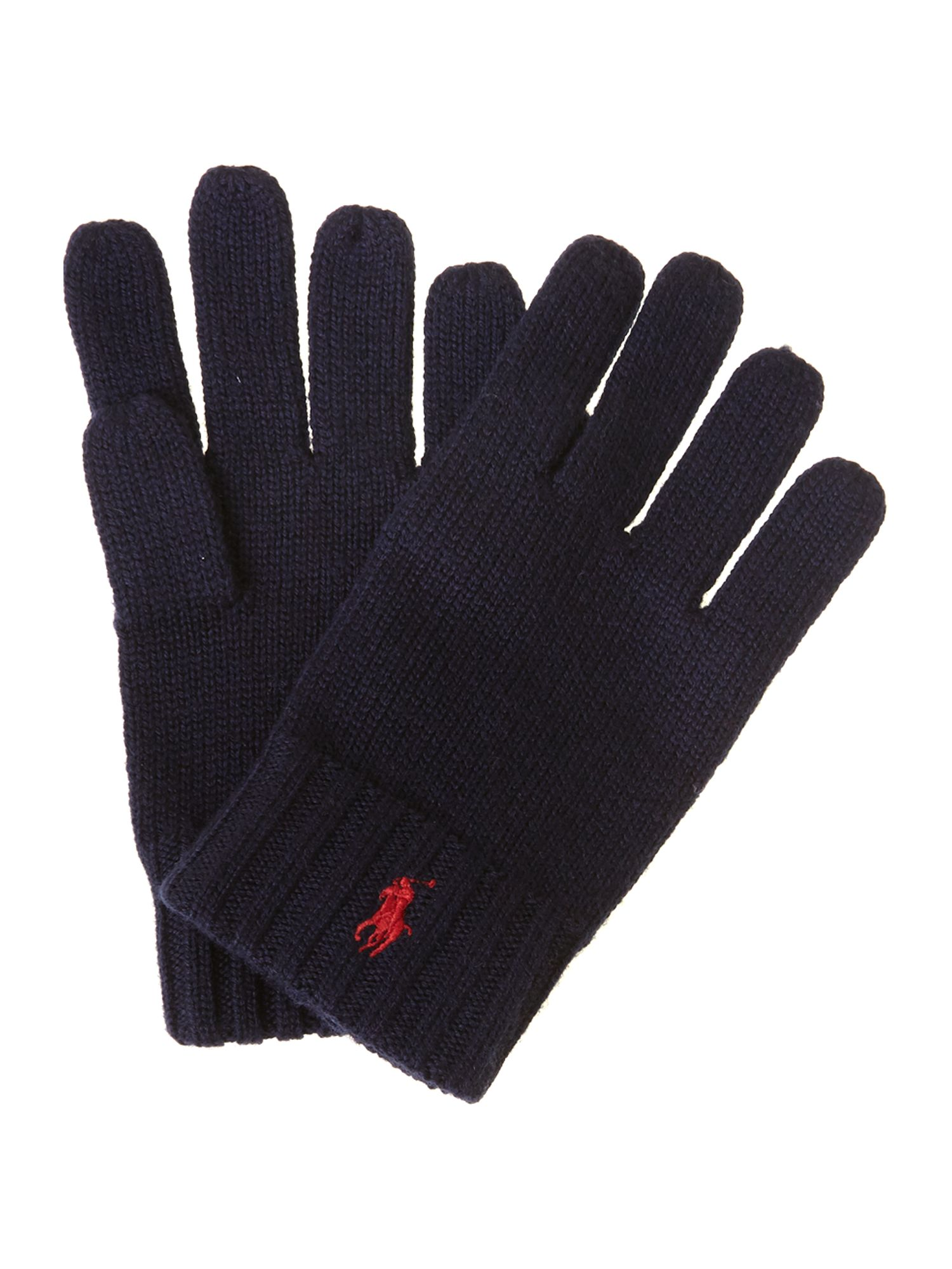 Boy`s small pony logo gloves
