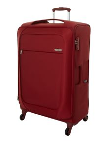 New B-Lite 4-wheel red large suitcase