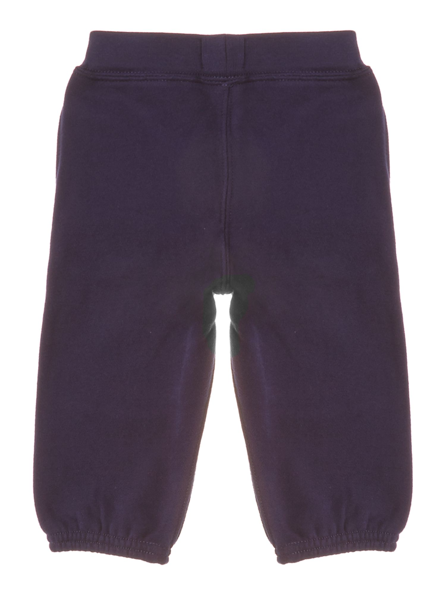 Boys tracksuit bottom with small pony