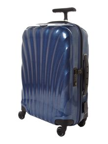 New cosmolite 4-wheel dark blue cabin case