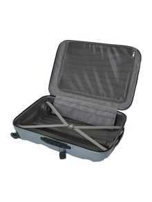 Samsonite New cosmolite 4-wheel silver medium suitcase