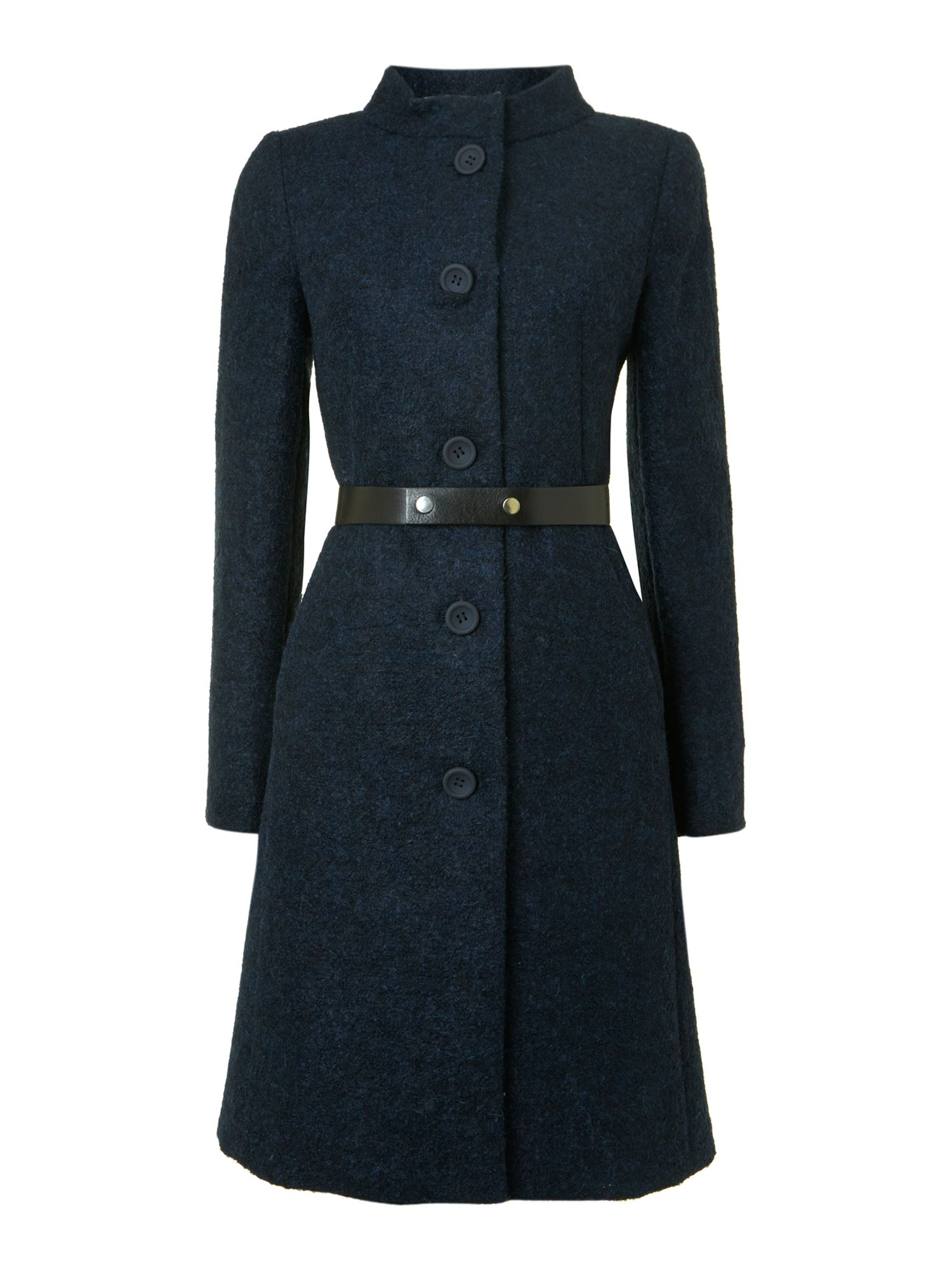 Dedalo button front coat