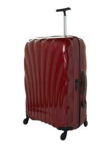 New cosmolite 4-wheel red large suitcase