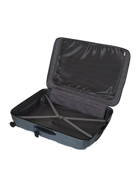 New cosmolite 4-wheel Silver large suitcase