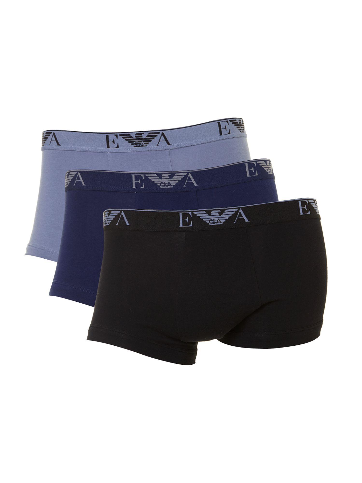 3 pack exclusive block colour trunk