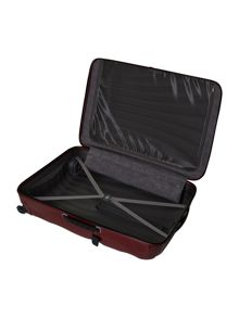 New cosmolite 4-wheel red extra large suitcase
