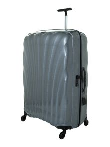 New Cosmolite 4-wheel silver extra large suitcase