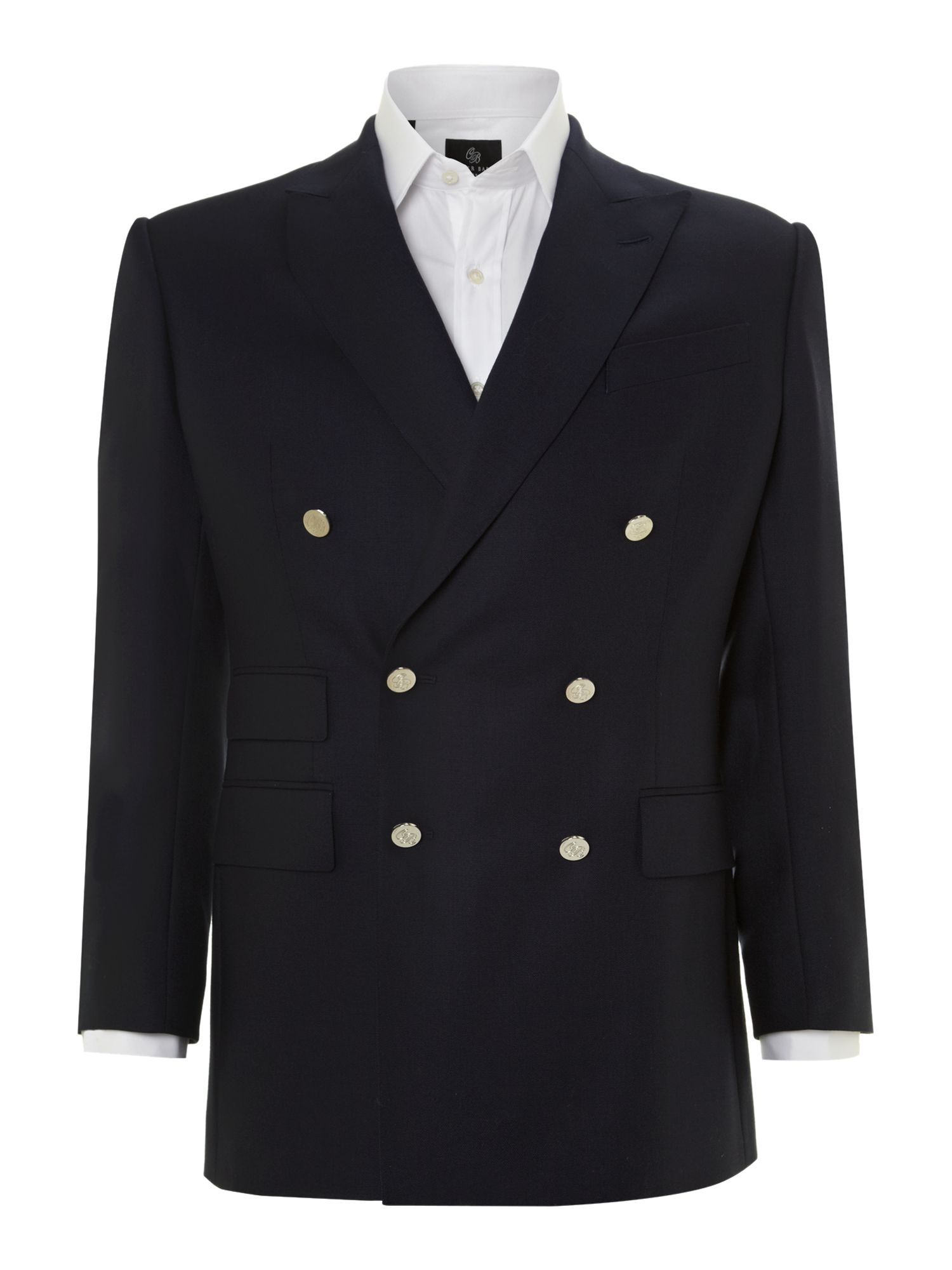 Mens Chester Barrie Classic double-breasted blazer $295.00 AT vintagedancer.com