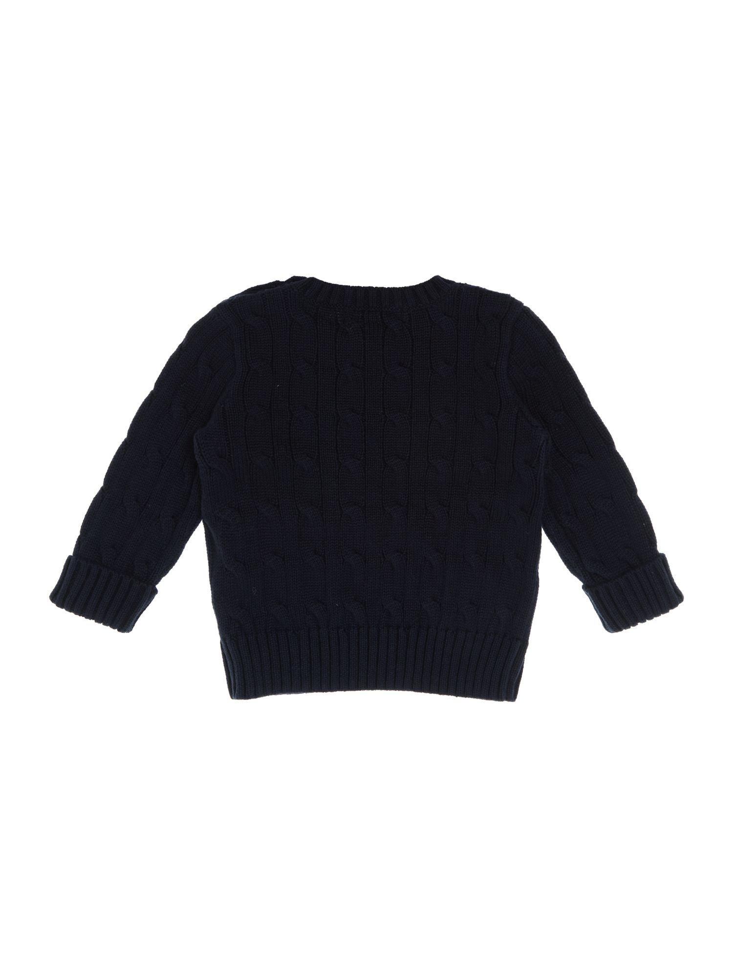 Boy`s cable knit jumper