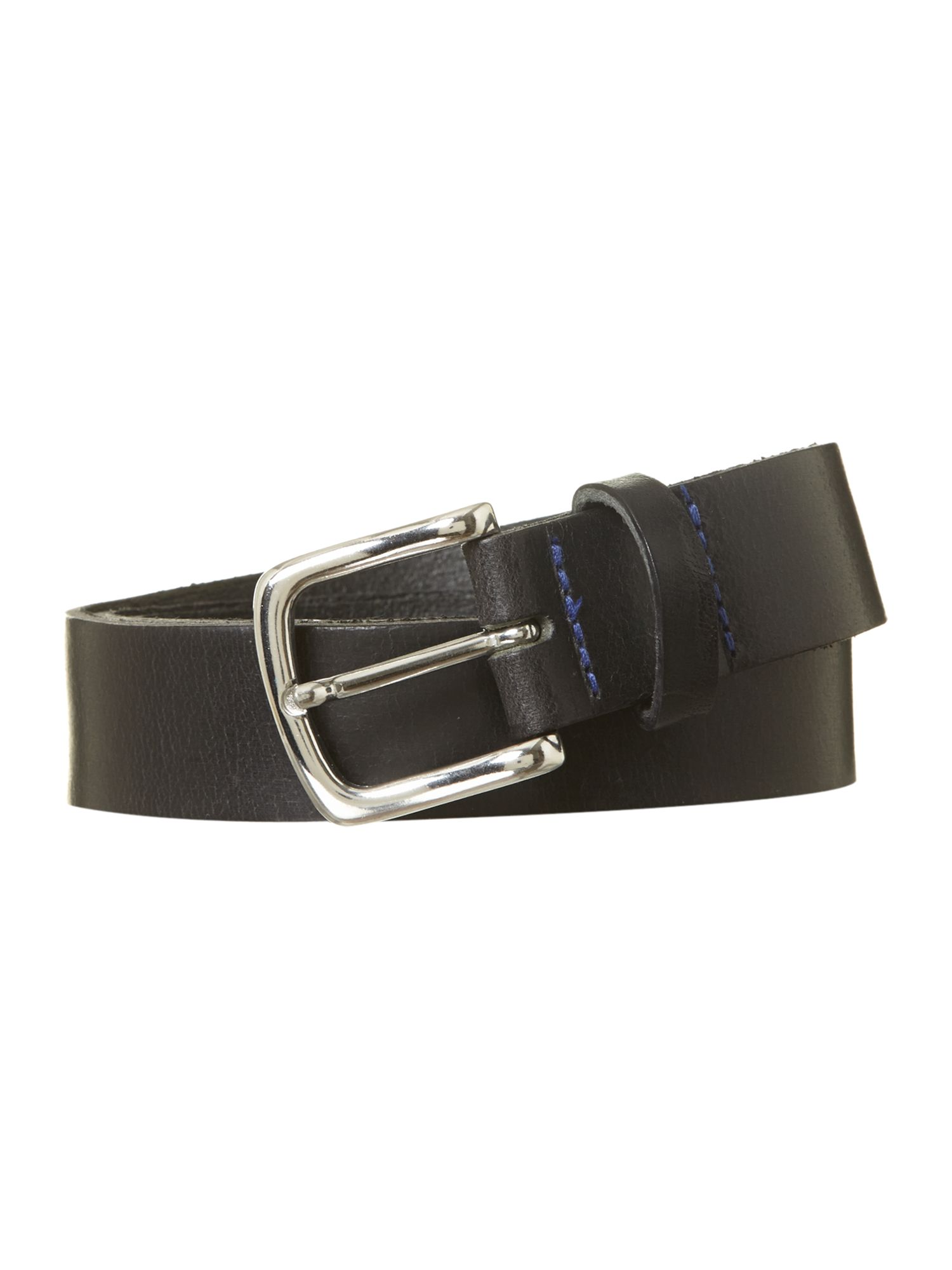 Blue stitch belt