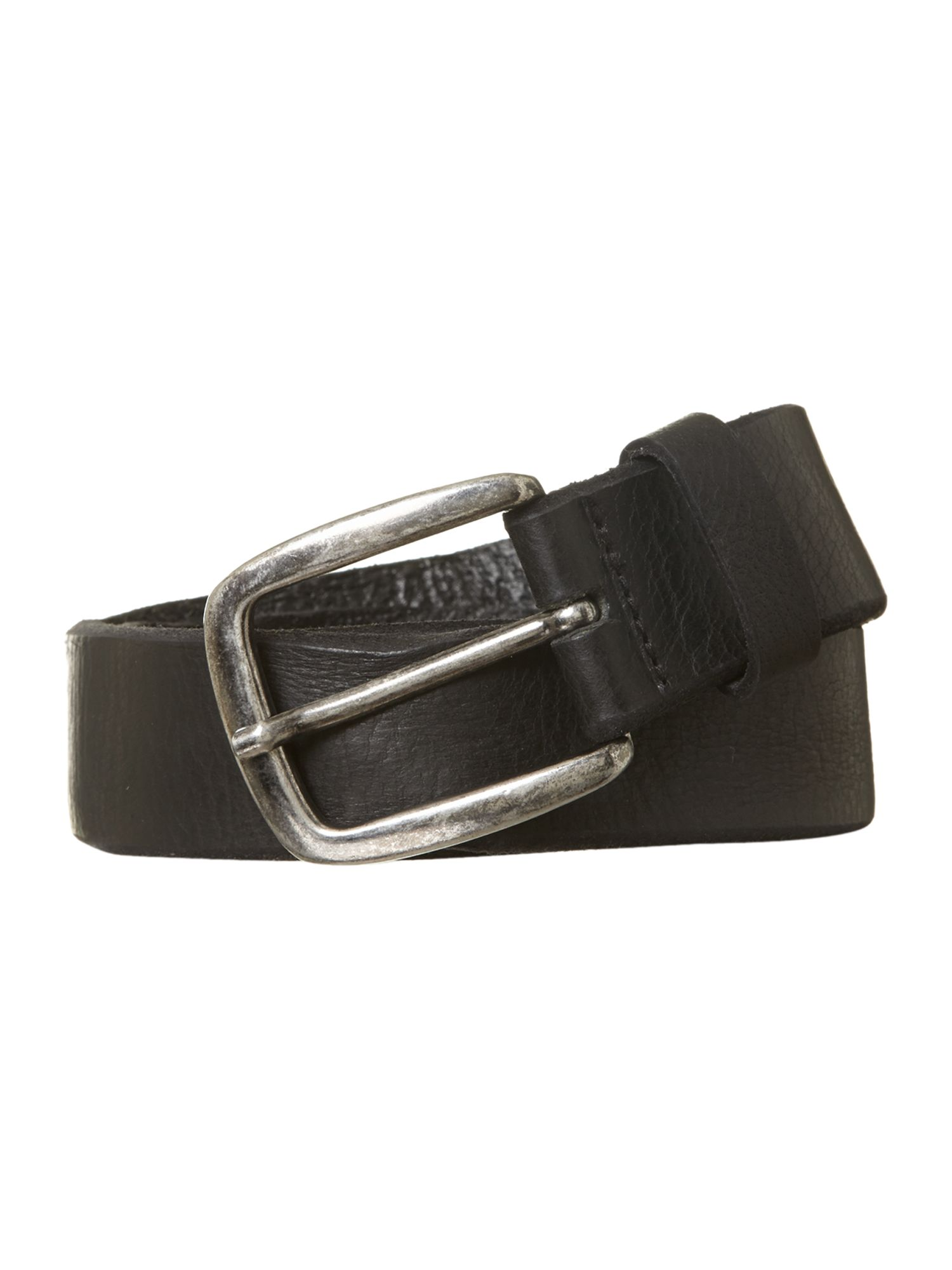 Distressed edge belt