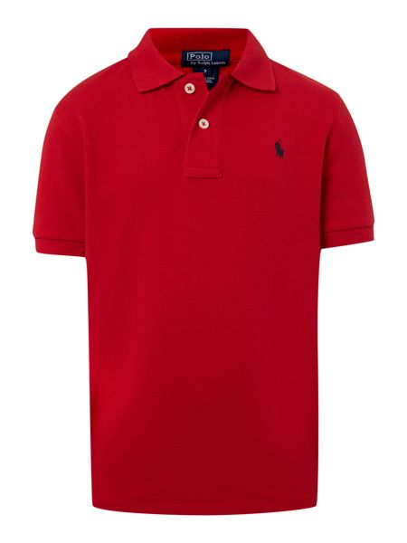 Polo Ralph Lauren Boys Small Pony Logo Classic Polo Shirt