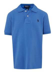 Polo Ralph Lauren Boy`s Small Pony Logo Classic Polo Shirt