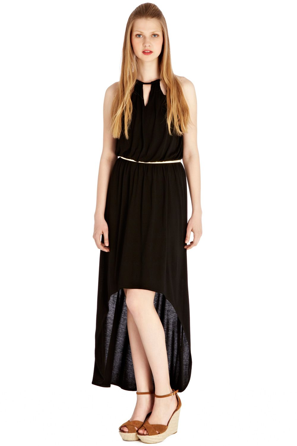 High low maxi dress