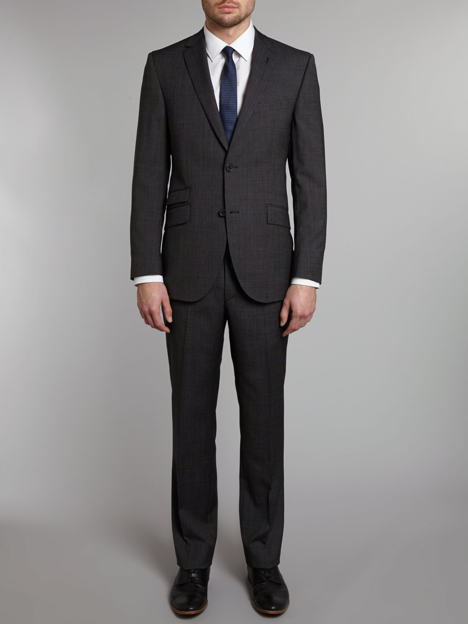 Randolph wool pindot slim fit suit
