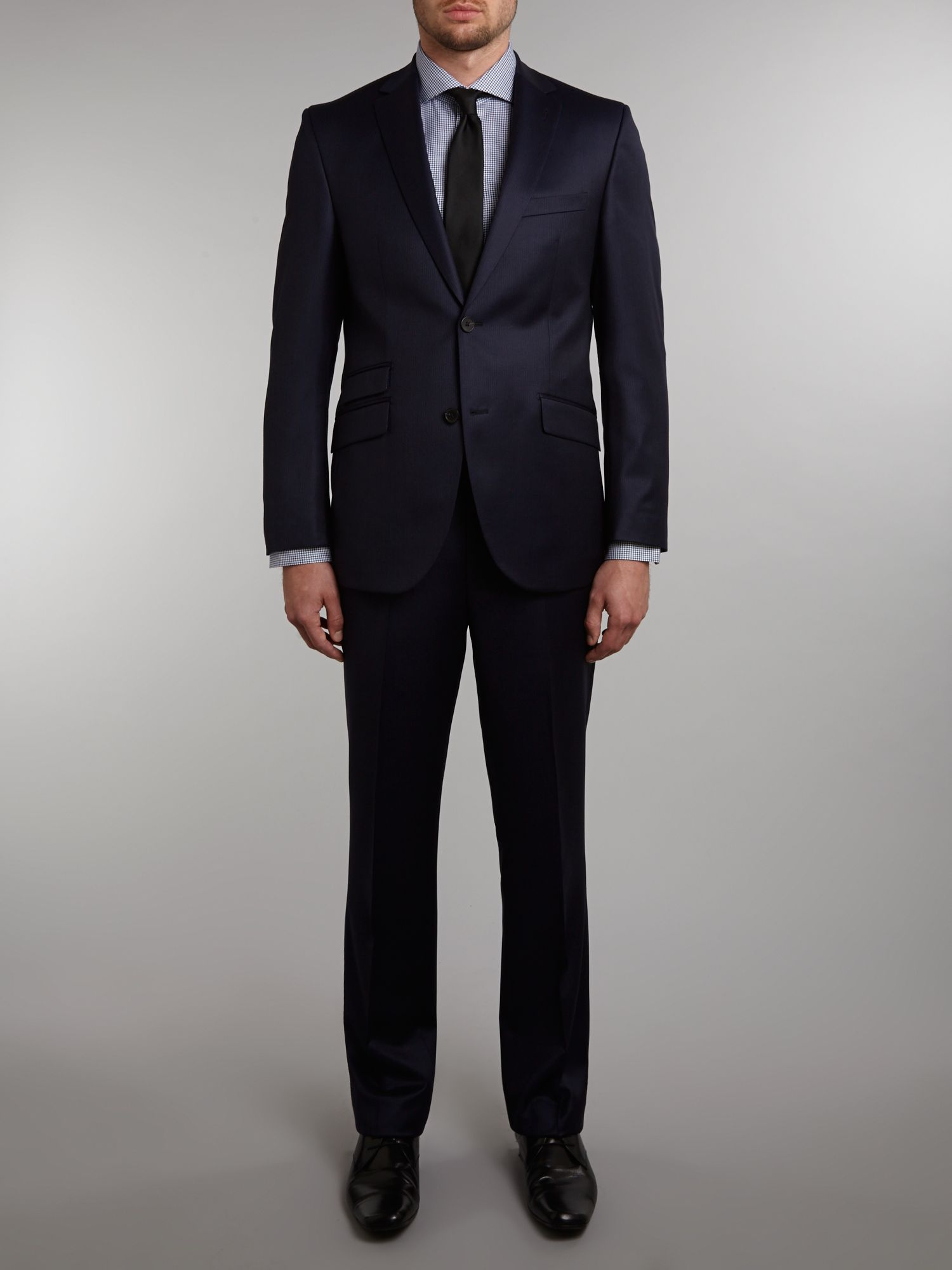 Randolph subtle blue stripe regular fit suit