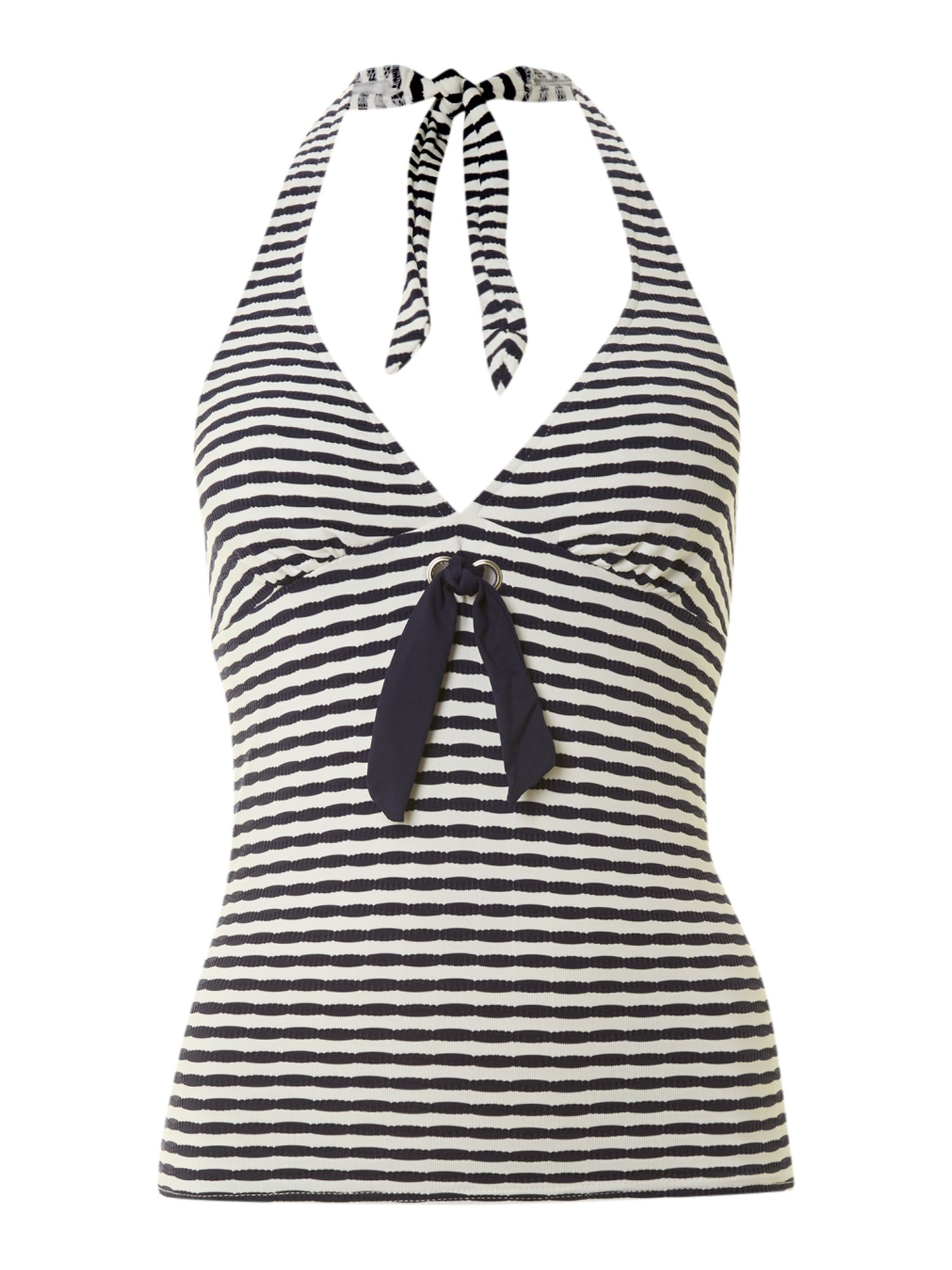 Tex stripe tankini