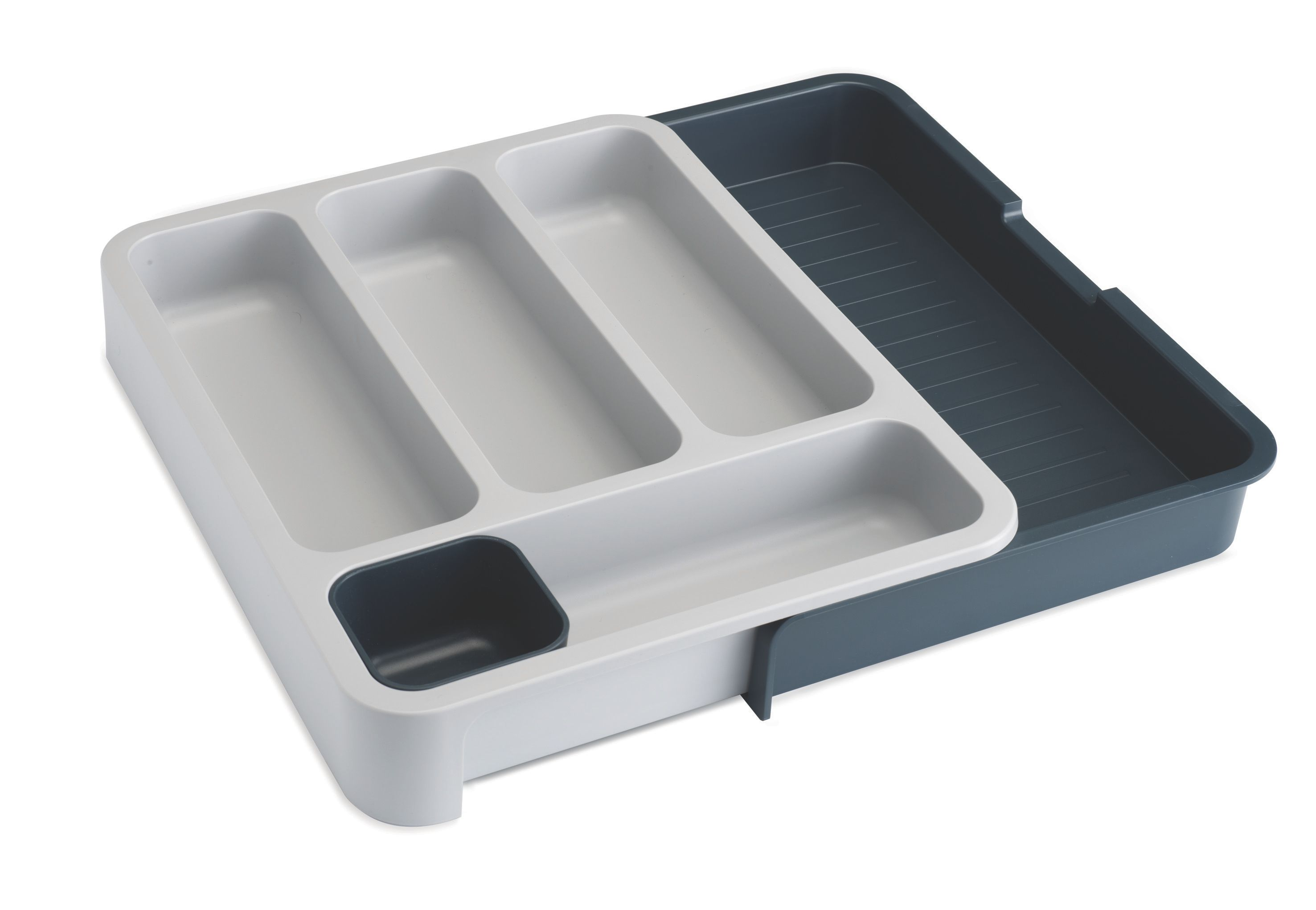 DrawerStore Cutlery Drawer - Grey/Grey