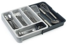 Joseph Joseph DrawerStore with Cutlery Tray - Grey/ Grey