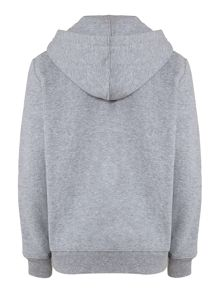 Boy`s zip-through small pony logo hoody