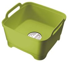 Wash and Drain Washing Up Bowl - Green