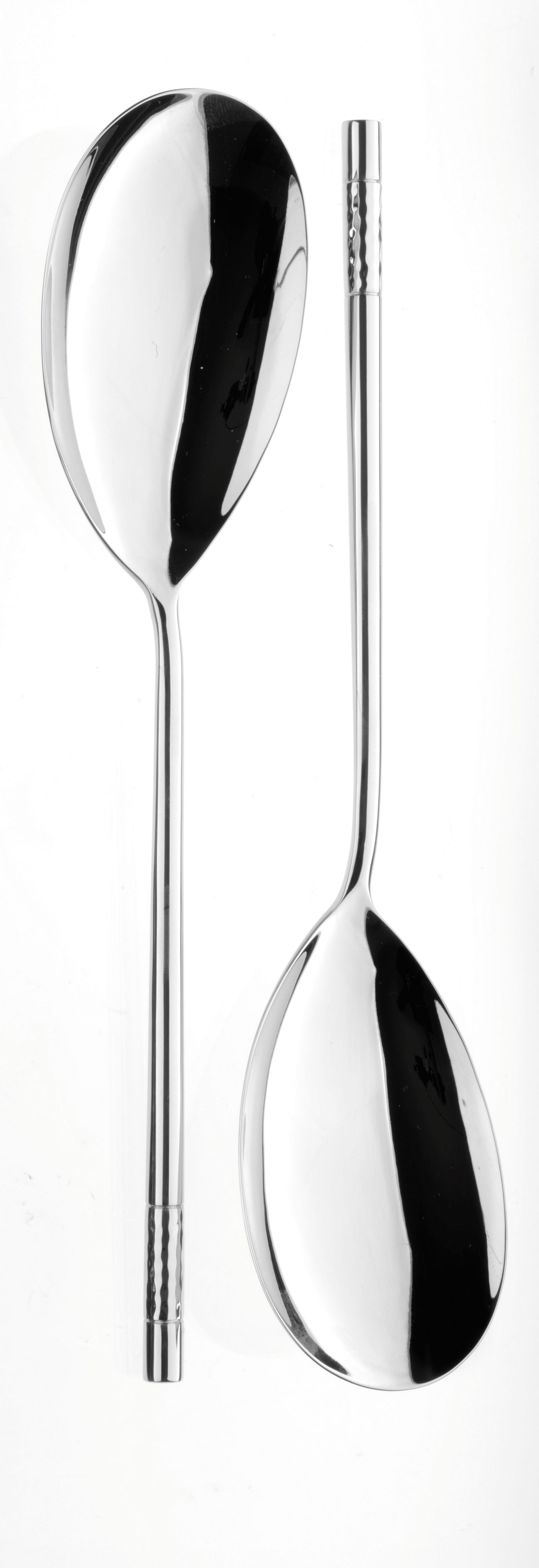 Feast stainless steel pair large serving spoons