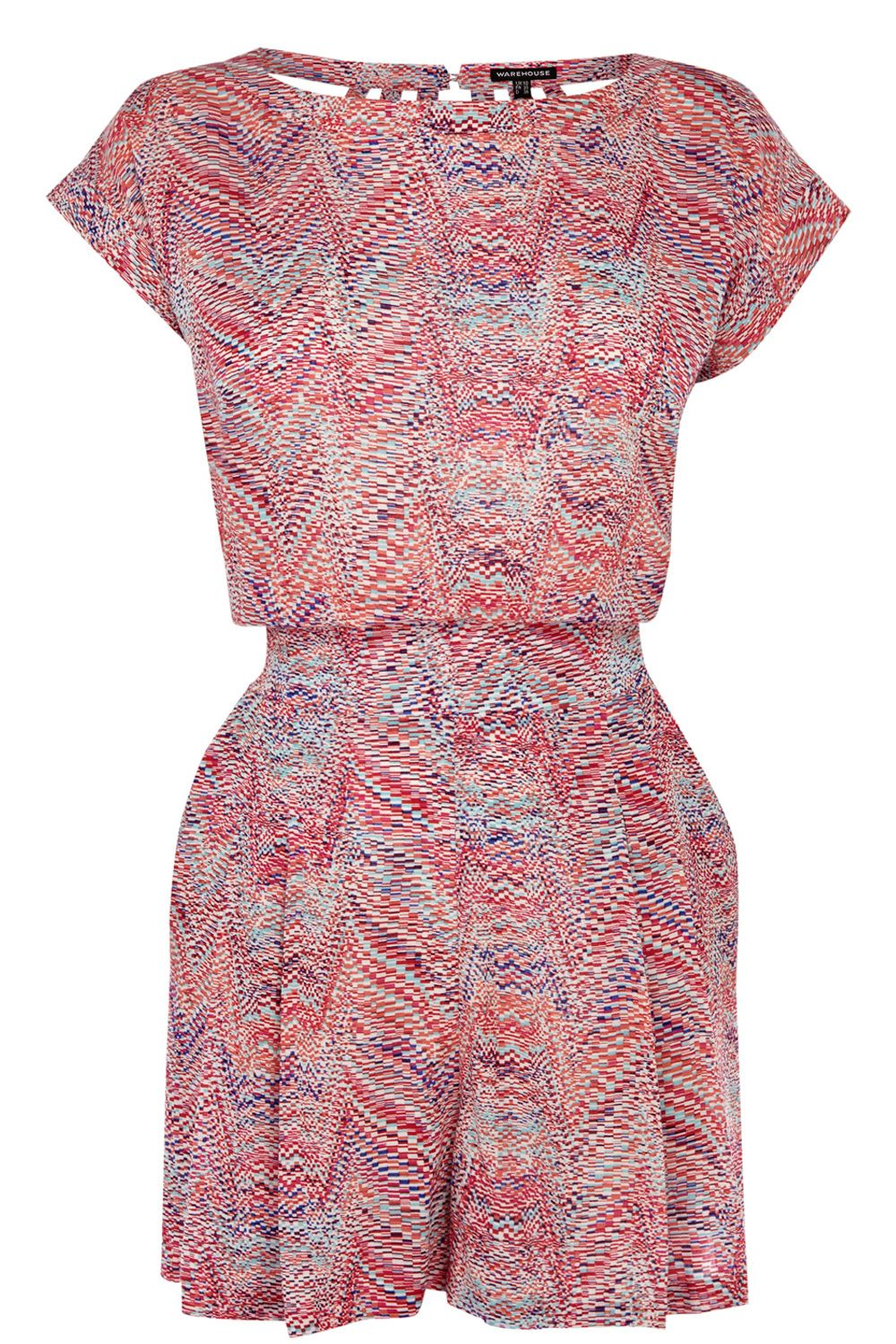 Bright chevron playsuit