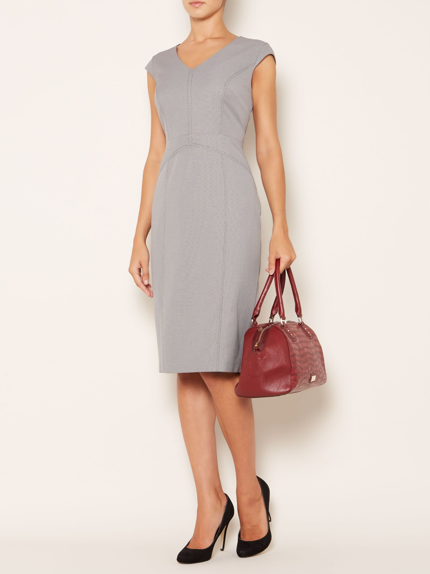 Andi Cap Sleeve Shift Dress