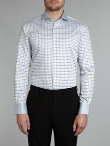 Kingswood check contrast regular fit shirt