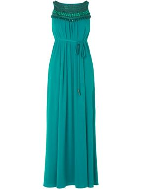 Phase Eight Embellished Maxi Dress