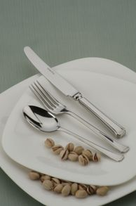 Harley stainless steel 7 pce place setting
