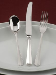 Rattail stainless steel 7 pce place setting