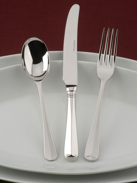 Arthur Price Rattail stainless steel 7 pce place setting