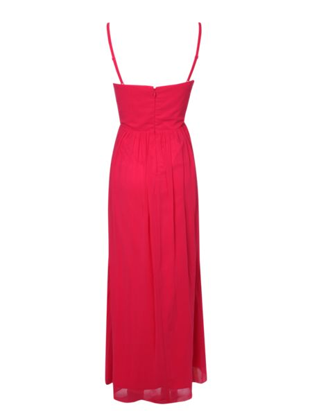 Jane Norman Cut Out Embellished Maxi Dress