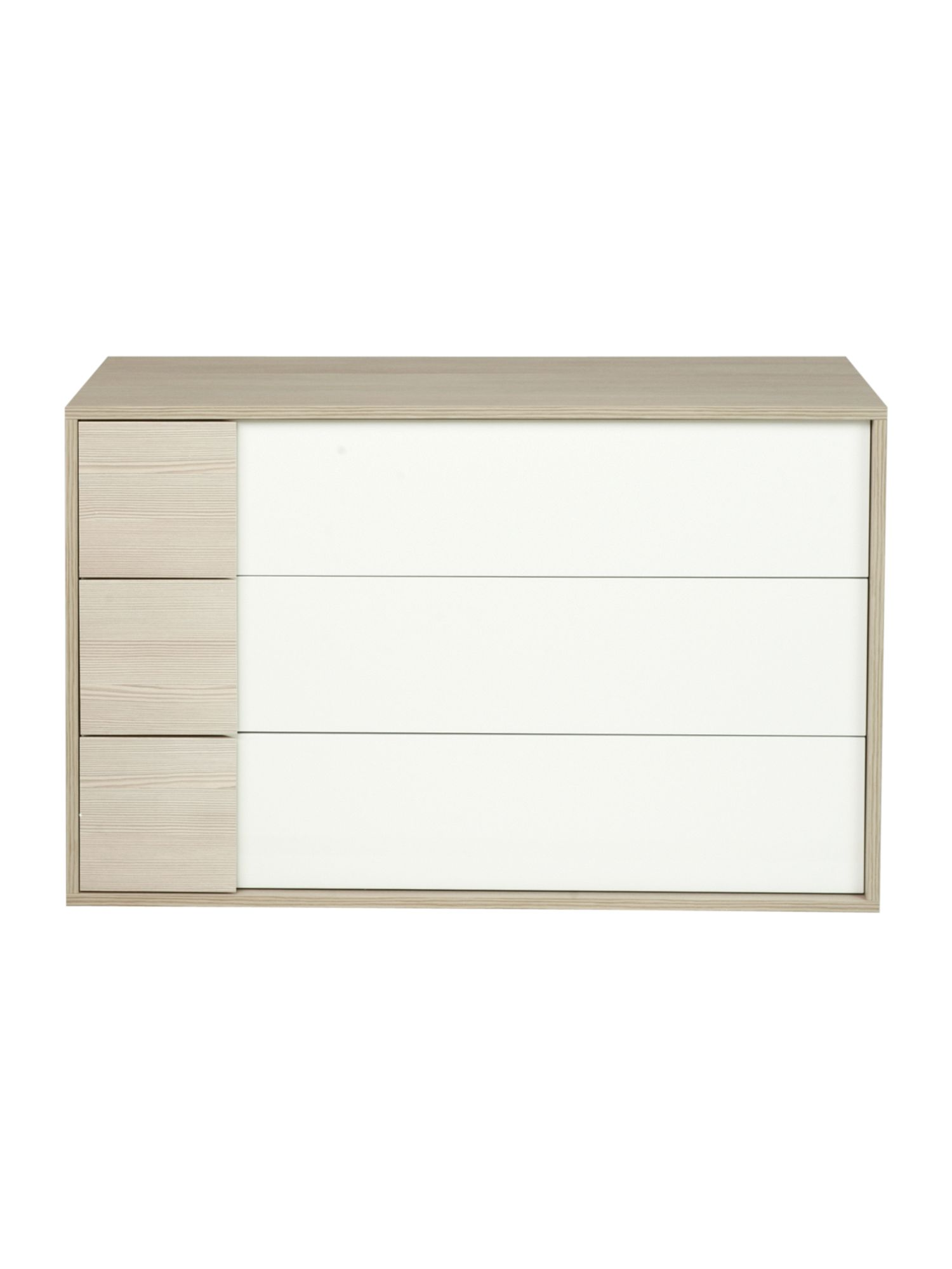 Genoa 3 drawer chest