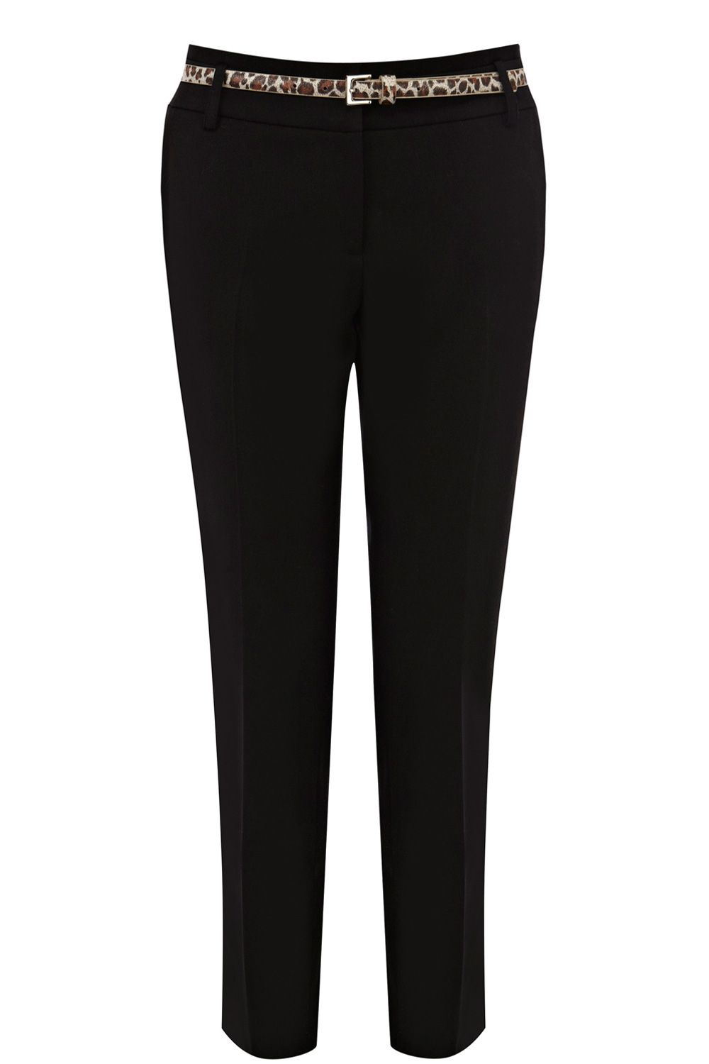 Double waistband trouser