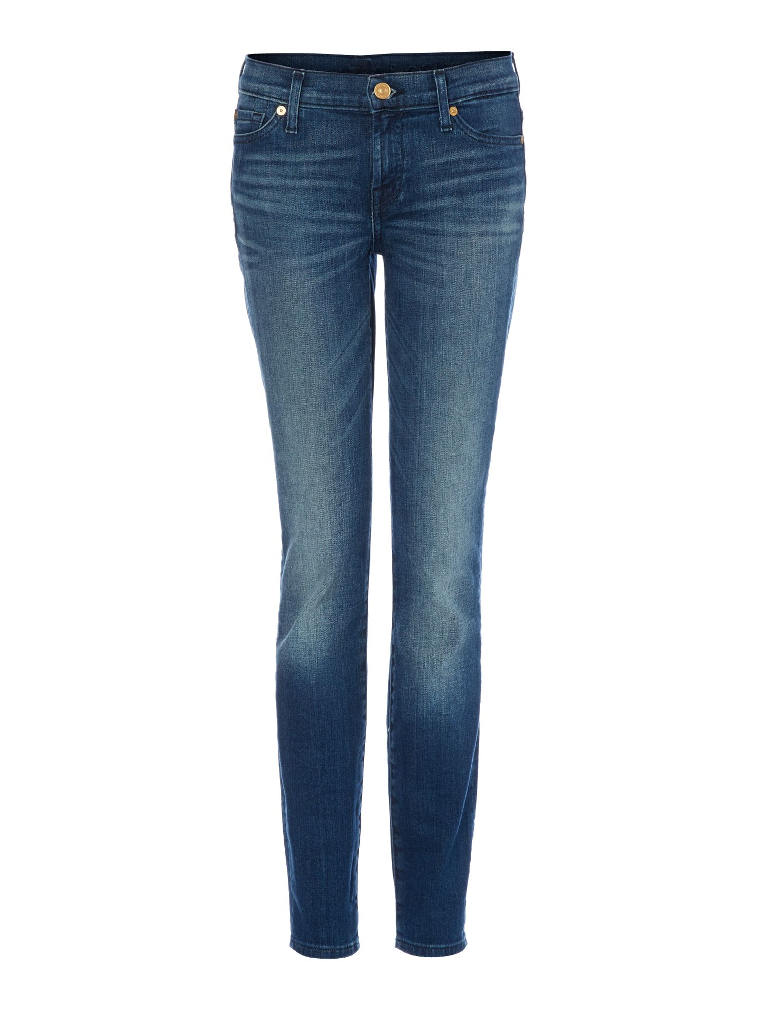 7 For All Mankind 7 For All Mankind The Skinny jeans in Dakota Mid, Denim Mid Wash
