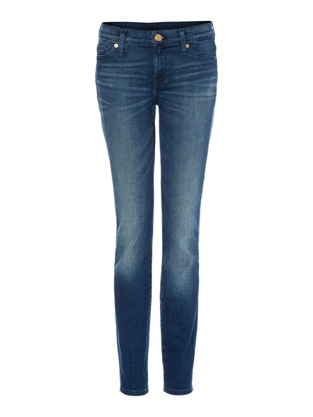 7 For All Mankind The Skinny jeans in Dakota Mid