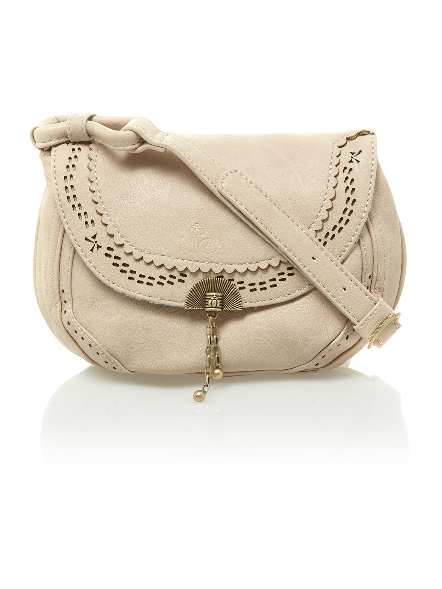 Neutral crossbody bag
