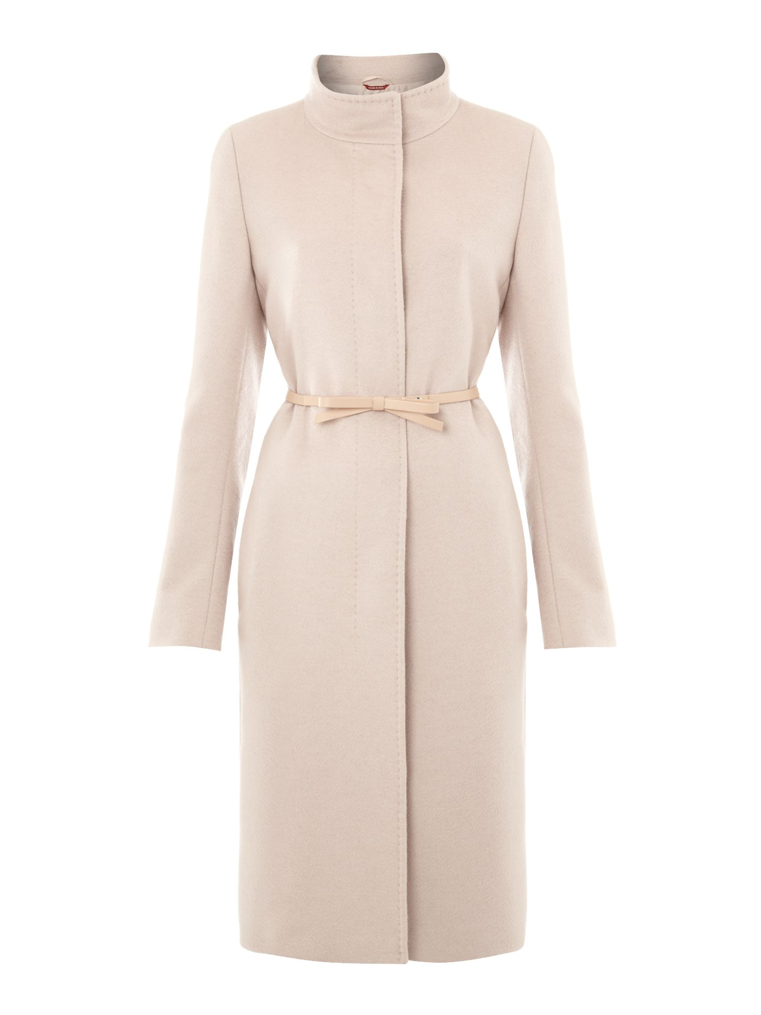 Kate cashmere coat with belt