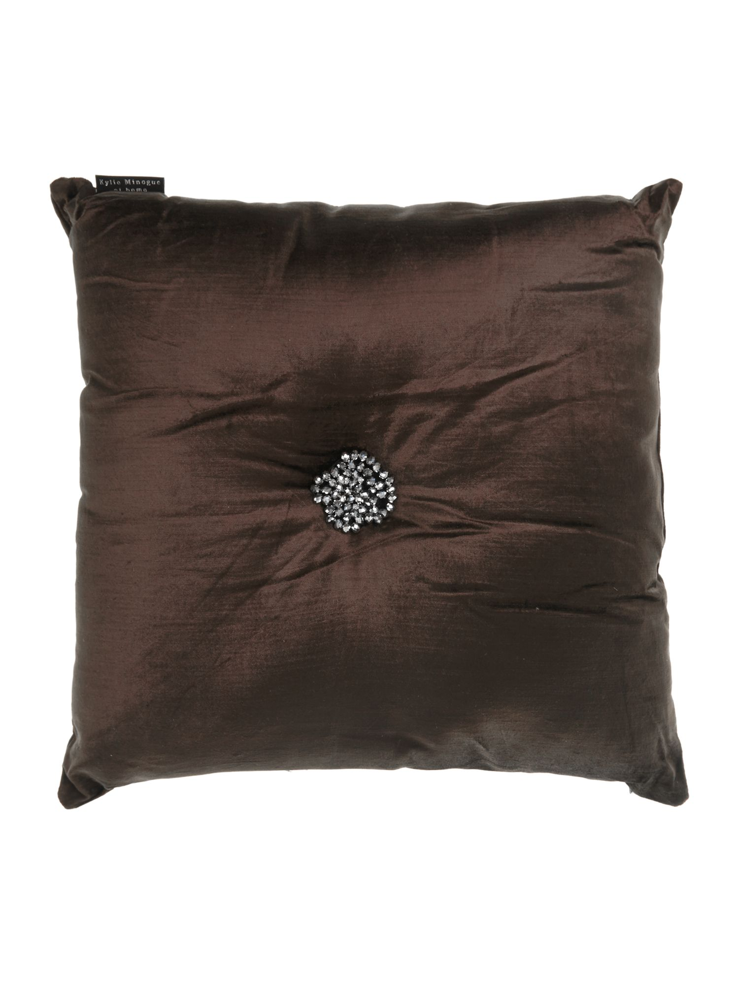 Cluster cocoa cushion 50x50