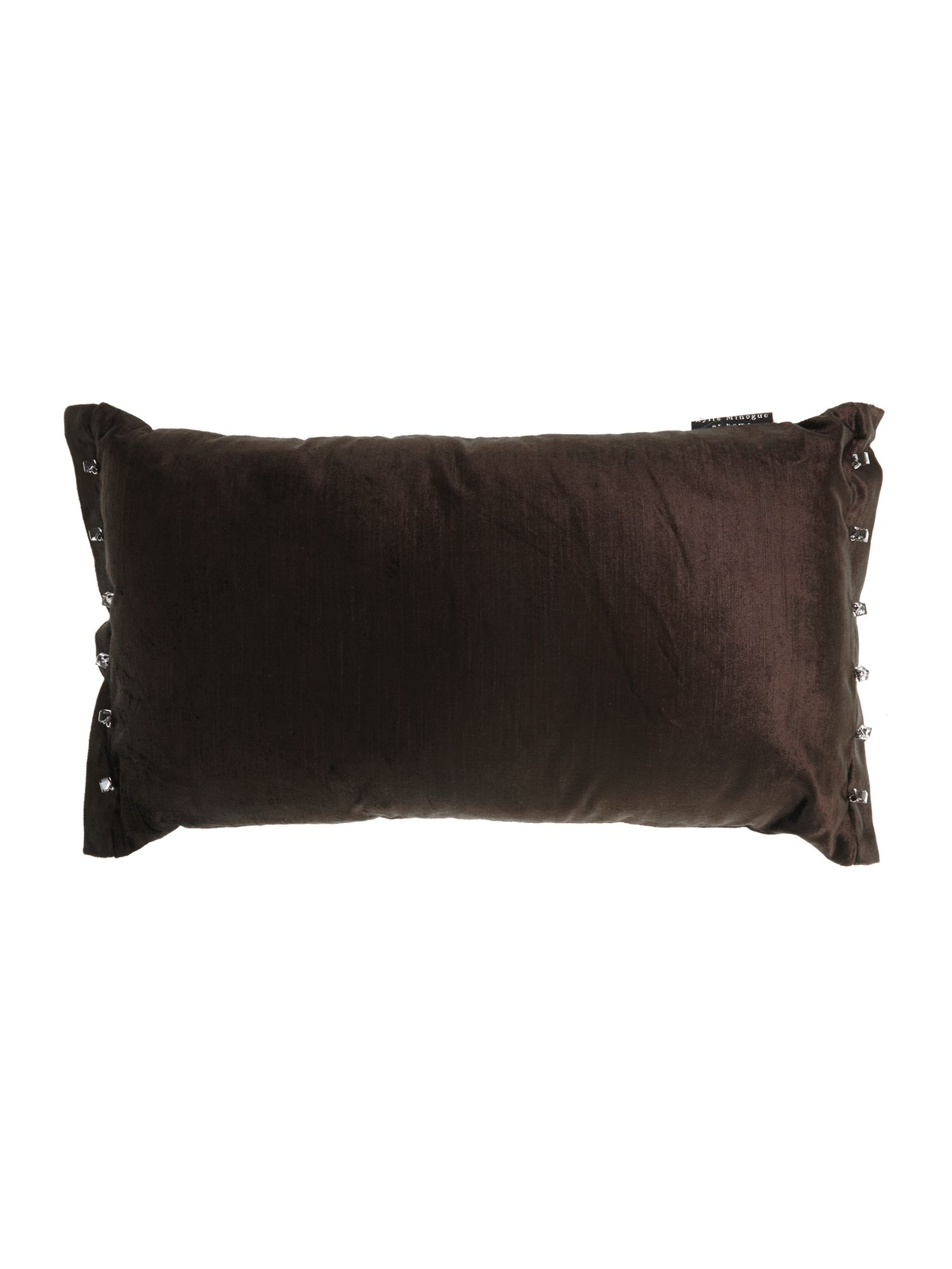 Cube cocoa cushion 30x50