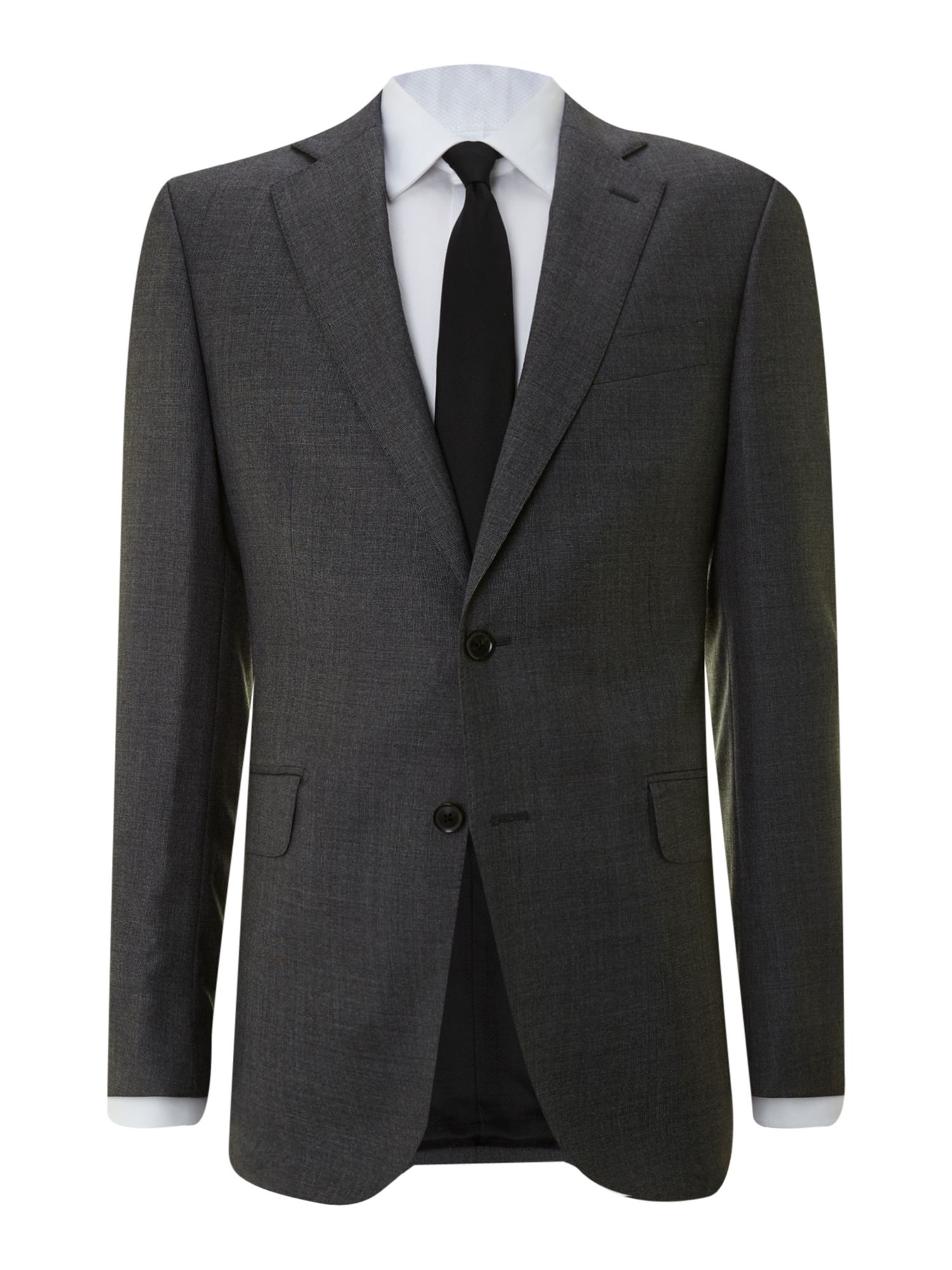 Prince of Wales check regular fit suit