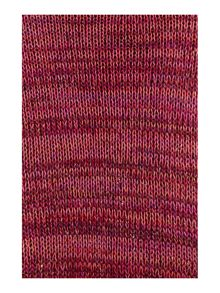 Lurex slip stitch wrap