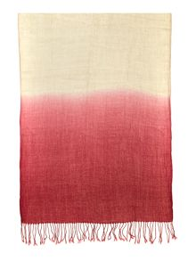 Ombre textured scarf