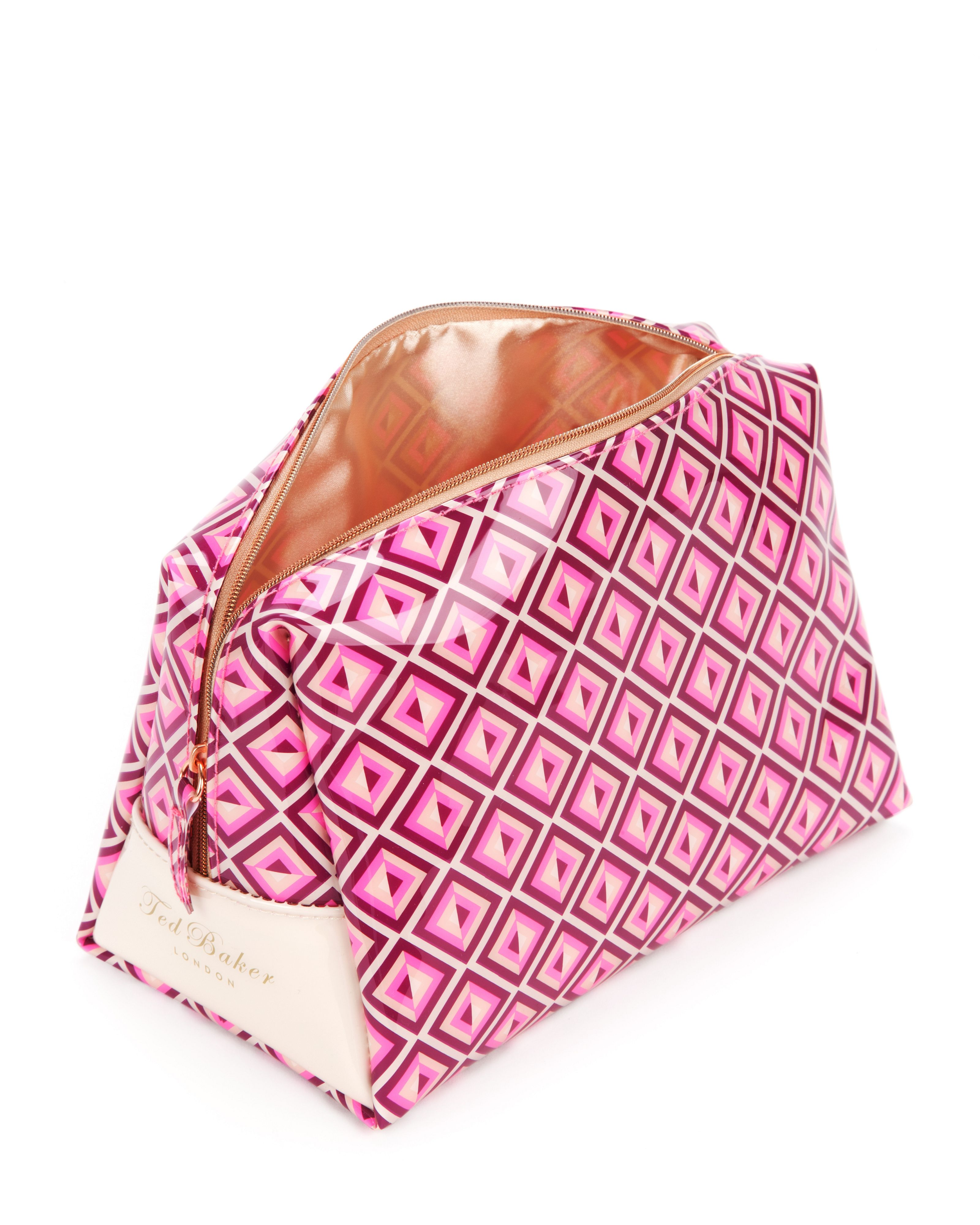 Sonter geo print large wash bag